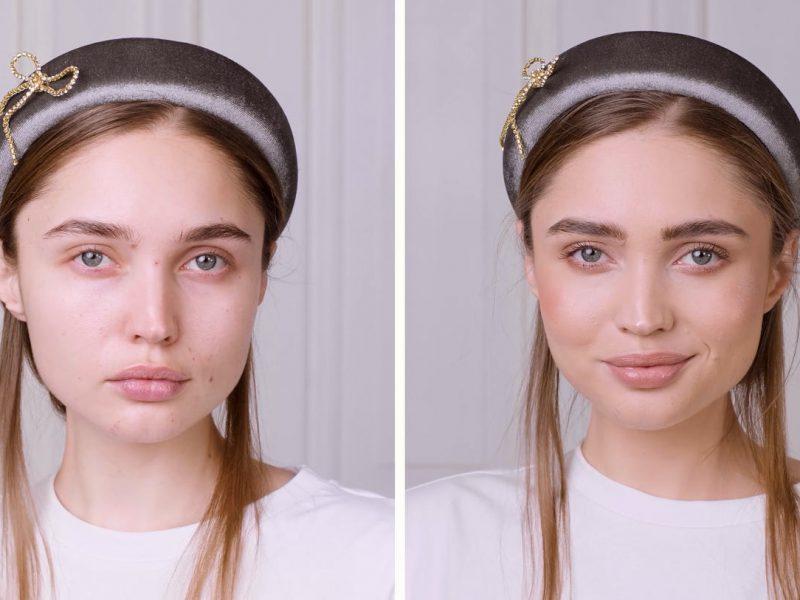film promocyjny tutorial makijażu